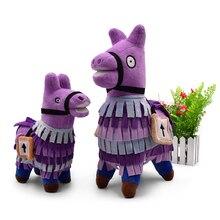2 estilos juguete caliente Stash Llama fuerte noche Alpaca tesoro Peluche bebé regalo de Navidad para los niños