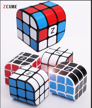 Newest 3x3x3 Zcube Penrose Magic Cube Puzzle Cubes Speed Cubo Square Puzzle Gifts Educational Toys for Children mo yue guo guan yue xiao 3 3 3 black magic cubes puzzle speed rubiks cube educational toys gifts for kids children