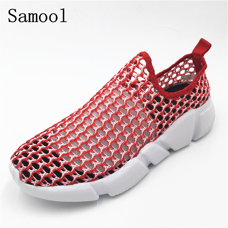 Women Shoes Casual Shoes Lightweight Summer Beach Flats shoes Women Loafers Breathable Air Mesh zapatos mujer Tenis Feminino U1 hot 2017 new fashion womens weave shoes spring summer mixed color breathable casual shoes flats slip on loafers tenis feminino