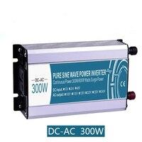 Off Grid Inverter 300W Pure Sine Wave Inverter DC 12V/24V/48V To AC 110V/220V Power Inverter Battery Solar Power Generation