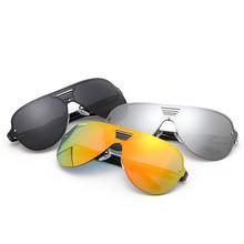 Nuevo 2017 gafas de Sol de Las Mujeres Del Verano Oval Marco Gafas Para Mujer Wayfarer UV400 Polarizado Espejo gafas De Sol Oculos Feminina