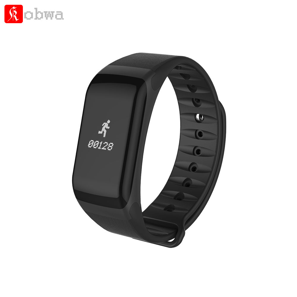 F1 Smart Armband Smart Band Fitness Schlaf Tracker Heart Rate Monitor Pulsometer Blutdruck Messung Sport Uhr