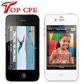 Original Factory Unlocked Iphone 4S phone 8GB/16gb/32gb 3.5'' 8MP Camera GSM WCDMA WIFI GPS Cell phones add glass film as gift