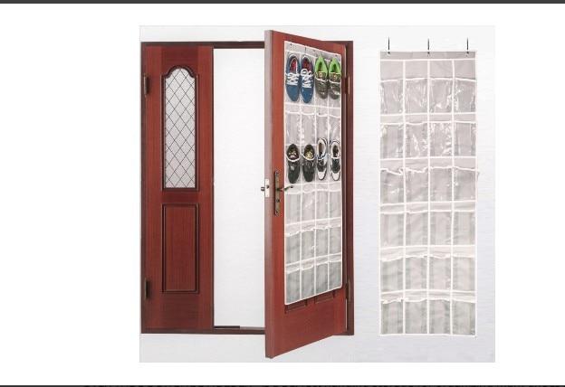 1pc Novelty Households Eco Shoes Storage Bag Hanging Zakka Jewelry bag Door Hanger Organizers