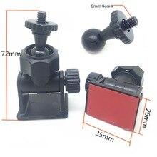 6mm Screw Head Car Mount Camera Holder DVR DV GPS Stand Auto