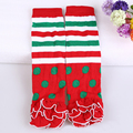1 Pair Winter Autumn Warm Children Girls Kids Cute Baby Striped Leg Warmers Kneepad Tight Stocking High #10