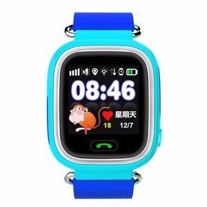 Image 5 - 키즈 시계 GPS 트래커 시계 와이파이 Q90 G72 터치 스크린 SOS 통화 위치 장치 스마트 시계 안티 분실 모니터 어린이 시계