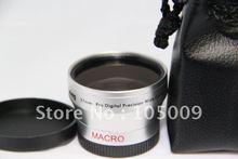 Wholesale prices 0.45x 37mm Wide Angle with Macro Conversion LENS for 37 mm DSLR/SLR Digital Camera