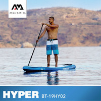 AQUA MARINA HYPER Surfing Board SUP Surfbaord Stand Up Paddle Board Inflatable Paddle Board 381*81*15CM Surfing Stroke Sports
