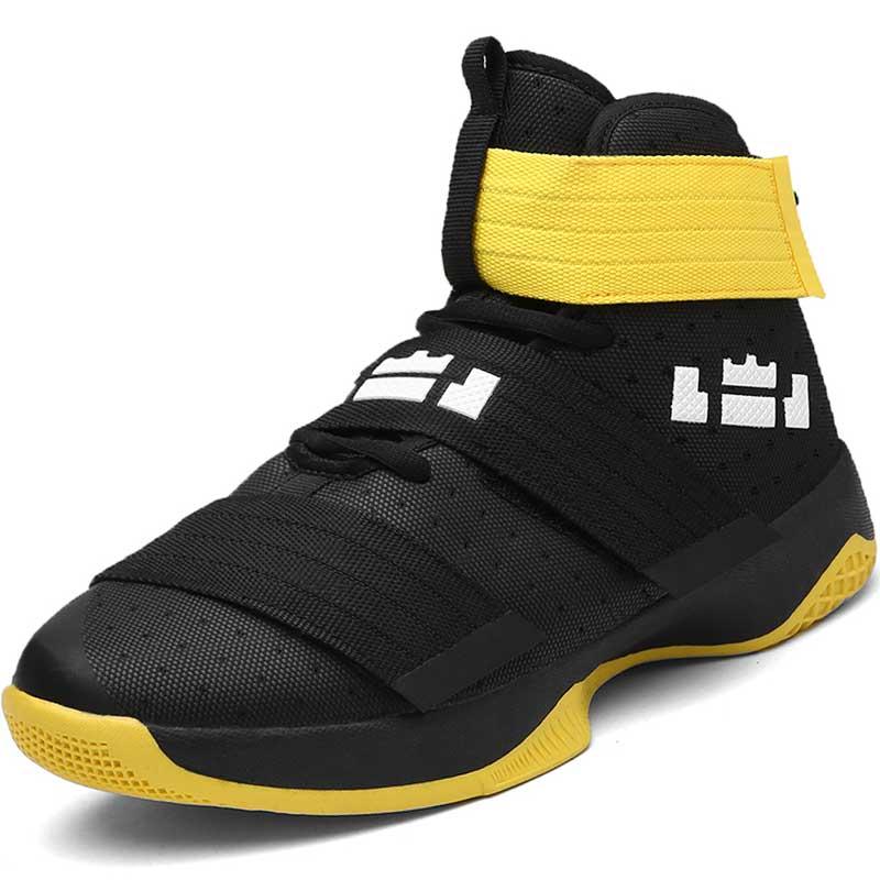 все цены на High Top Sneakers Men Basketball Shoes Plus Size 45 Breathable Outdoor Sport Shoes Boys Athletic Training Superstar Basket Femme онлайн