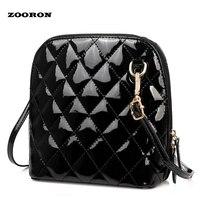 2016 New Lattice Bag Lady Satchel Female Crossbody Bag Korean Tide Candy Diagonal Fashion Bag Black
