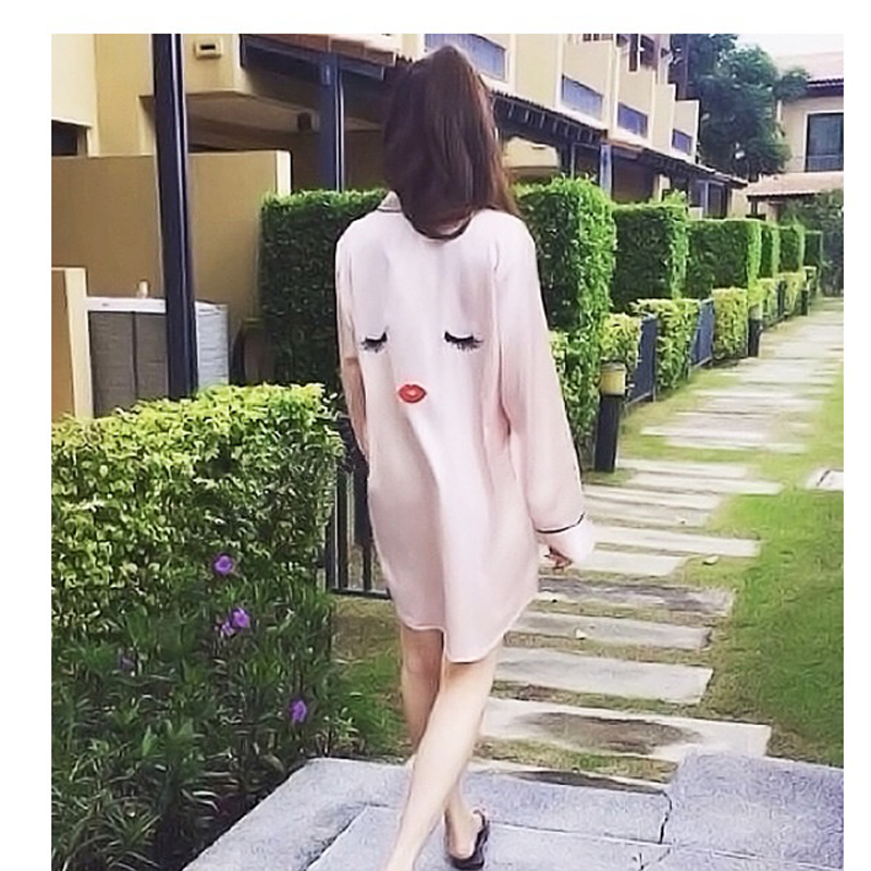 f66ad50699 YAHOUHEI 4 Pieces pink Women Summer Pajamas Top Shorts Robe Eye Mask  Sleepwear