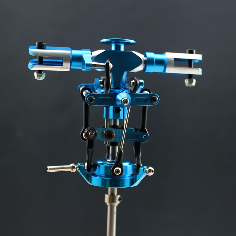 450 V3 SPORT Main Rotor Head Set for Align Trex 450 Helicopter blue color
