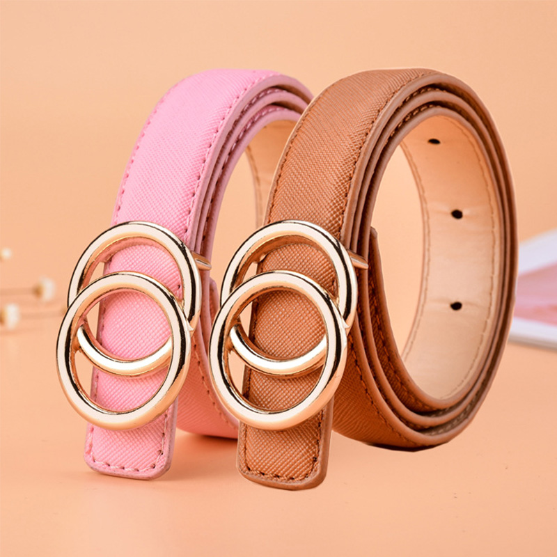 High Quality Children Leather Belts For Boys Girls Kid Casual Pu Waist Strap Waistband For Jeans Pants Trousers Adjustable Z31