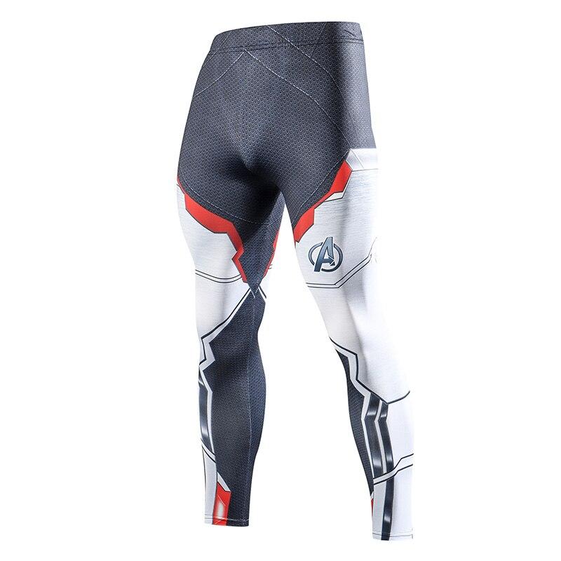 ccc6fc6d1 2019 pantalones de compresión para correr mallas de entrenamiento para  hombre Fitness Streetwear Leggings para hombre gimnasio Jogging pantalones  ropa ...