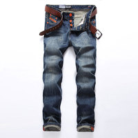 Hot Sale Fashion Men Jeans Dsel Brand Straight Fit Ripped Jeans Italian Designer 100 Cotton Distressed