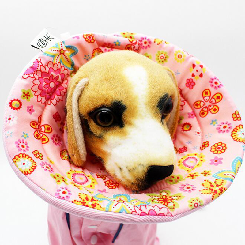 Dog Collar Pet Protective Collar Cover Anti Bite Ring Protective Collar Sponge Cover Soft Cat Dog Shield Dog Supplies