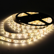 LED Strip Lighting 5M/roll 60leds/M DC12V Waterproof 3528 SMD LED Strips Light Multicolor Flexible Strip Light Decoration