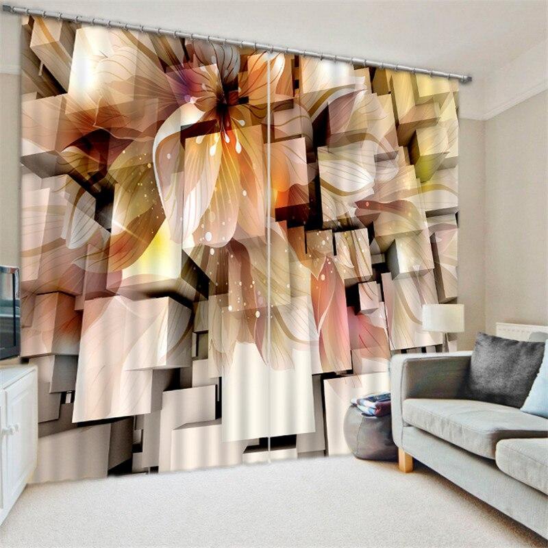 2017, крутые черно белые затемненные 3D шторы с цифровой печатью для гостиной, постельные принадлежности, занавески, Cotinas para sala - 4