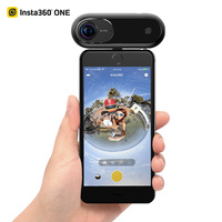 2018 Insta360 360 Camera 4k 360 Video Camera Insta360 Digital 360 Action Camera Support BT for iPhone X 8 7 Plus