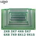 9x15 8x12 7x9 6x8 5x7 4x6 3x7 2x8 см двухсторонний прототип Diy универсальная печатная плата печатной платы печатная плата для Arduino