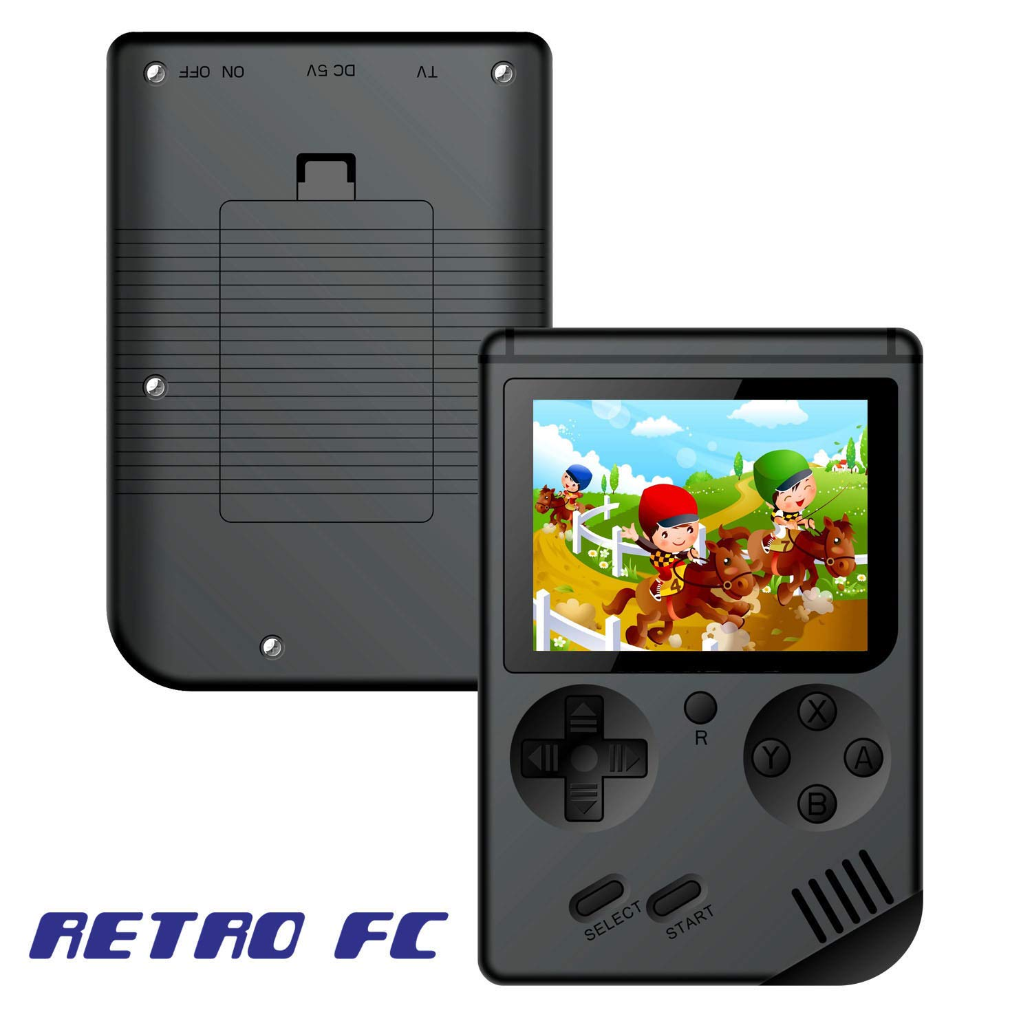 168 Games MINI Portable Retro Video Console Handheld Game Advance Players Boy 8 Bit Built-in Gameboy 3.0 Inch Color LCD Screen