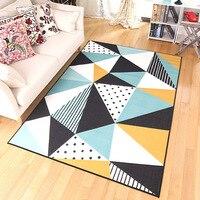 Zeegle Nordic Carpets For Living Room Flannel Sofa Table Floor Mats Anti slip Bedroom Area Rug Ding Room Palor Floor Carpets