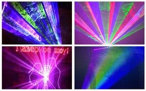 Image 4 - Projecteur Laser LED lumières de scène, Mini Flash automatique RGB activé par le son
