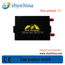 New gps tracker tk105 support speed limit function gps tracker for cars