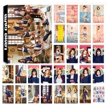New 30Pcs/set KPOP TWICE 04 SIGNAL Album Photo Card PVC Cards Self Made LOMO Car
