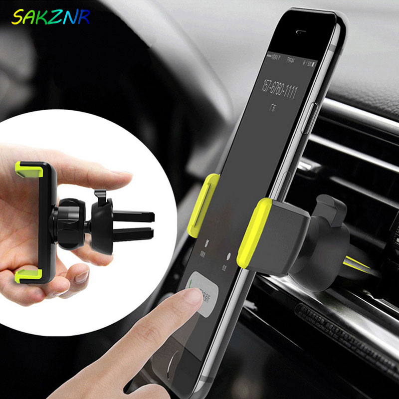 Car Phone Holder For iPhone X XS Max 8 7 6 Samsung 360 Degree Support Mobile