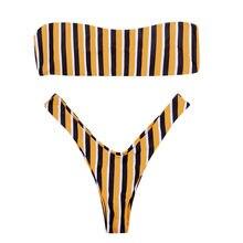 Negro Amarillo Compra Bikini De Promoción 6m7gvYbIfy
