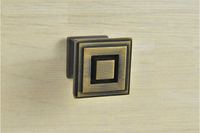 Oil Rubbed Bronze Kitchen Cabinet Pull Cupboard Handle Knob Diameter 25 25mm