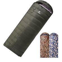 Сверхлегкий спальный мешок зимний военный вакуумный для кемпинга