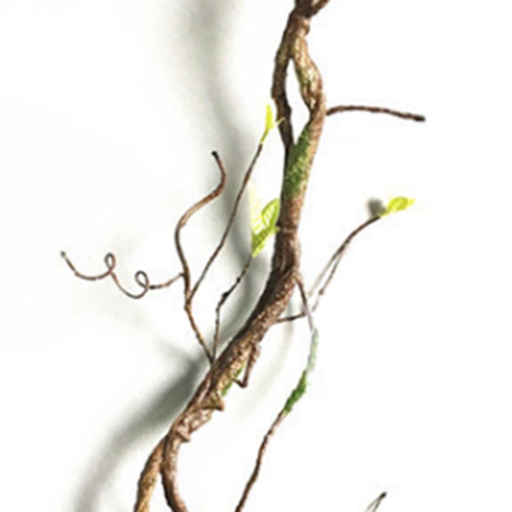b89d47ee7 Rattan Artificial Real Toque Falso Galhos de Árvores Decoração Da Parede Da  Videira Da Flor da Festa De Casamento DIY Decoração Coroa de Flores  Acessórios ...