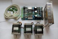 High Quality Nema 23 Stepper Motor 290oz In 3 0A 3 Axis Board CNC MACH3 Kit
