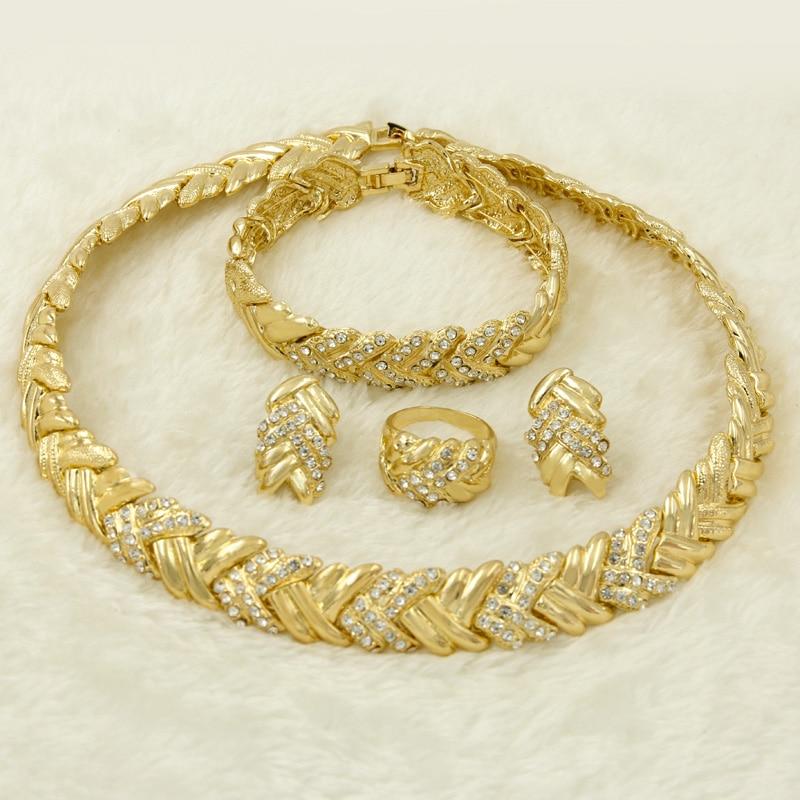 2018 Fashion Women S Accessories Dubai Gold Jewelry