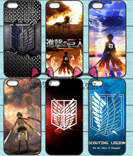 Attack on Titan Phone Case For Samsung Galaxy S6 S7 Edge S8 Plus A3 A5 A7 J3 J5 J7 2015 2016 2017 J5 Prime S5