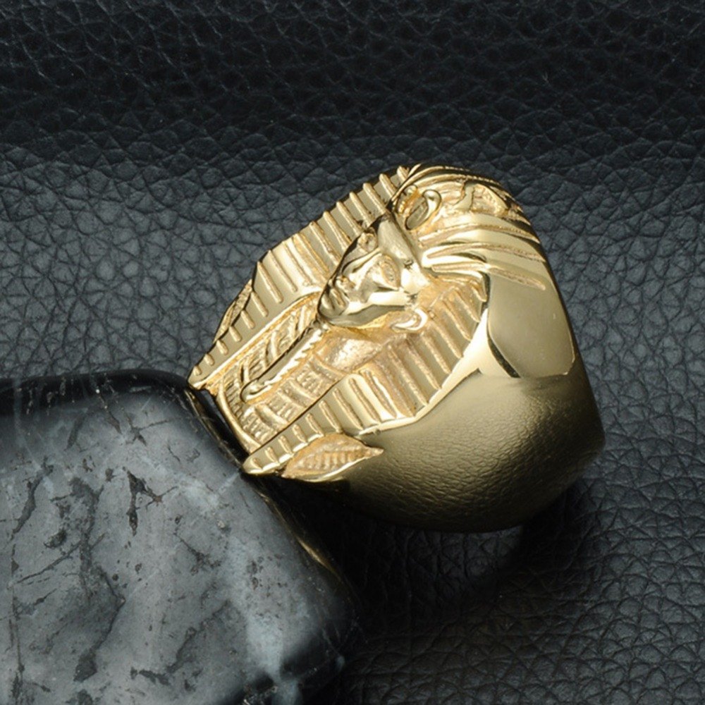 of product animal steel biker lion rings stainless s tone gold head silver ring men huge king face