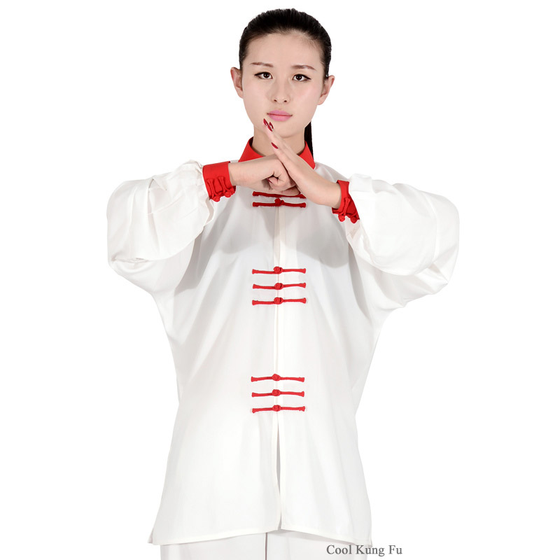 Tai Chi Clothing Kung Fu Clothes Spring And Autumn Uniform  Male And Women