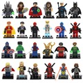 Venta única Figura Avengers Superman DC Marvel Super Heroes Batman Modelo de Bloques de Construcción Ladrillos Juguetes