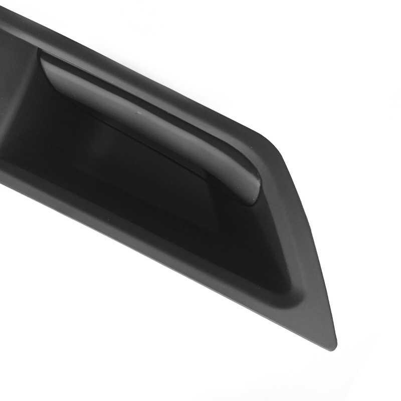 Per Bmw 5 Serie F10 F18 2011 2012-2014 2015 2016 2017 in Fibra di Carbonio Texture Car Interior Porta Tirare maniglia Coperchio di Protezione