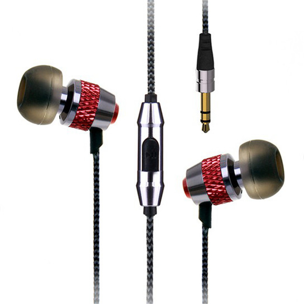 Lenovo In-Ear Earphone Xiaomi Stereo Bass Wholesale OVC with Mic Nylon Line for A2 Lite