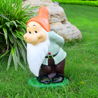 cool creative handmade resin gnome figurine garden decorations