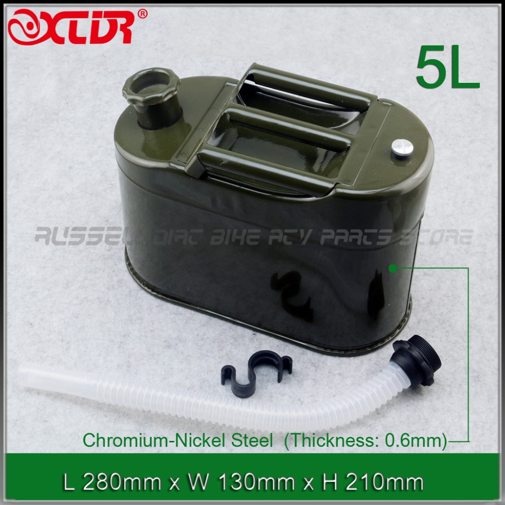 5L 10L Mount Motorcycle Spare Portable Fuel Tank Jerry Cans Metal Car Petrol Tanks Jerrycan Oil