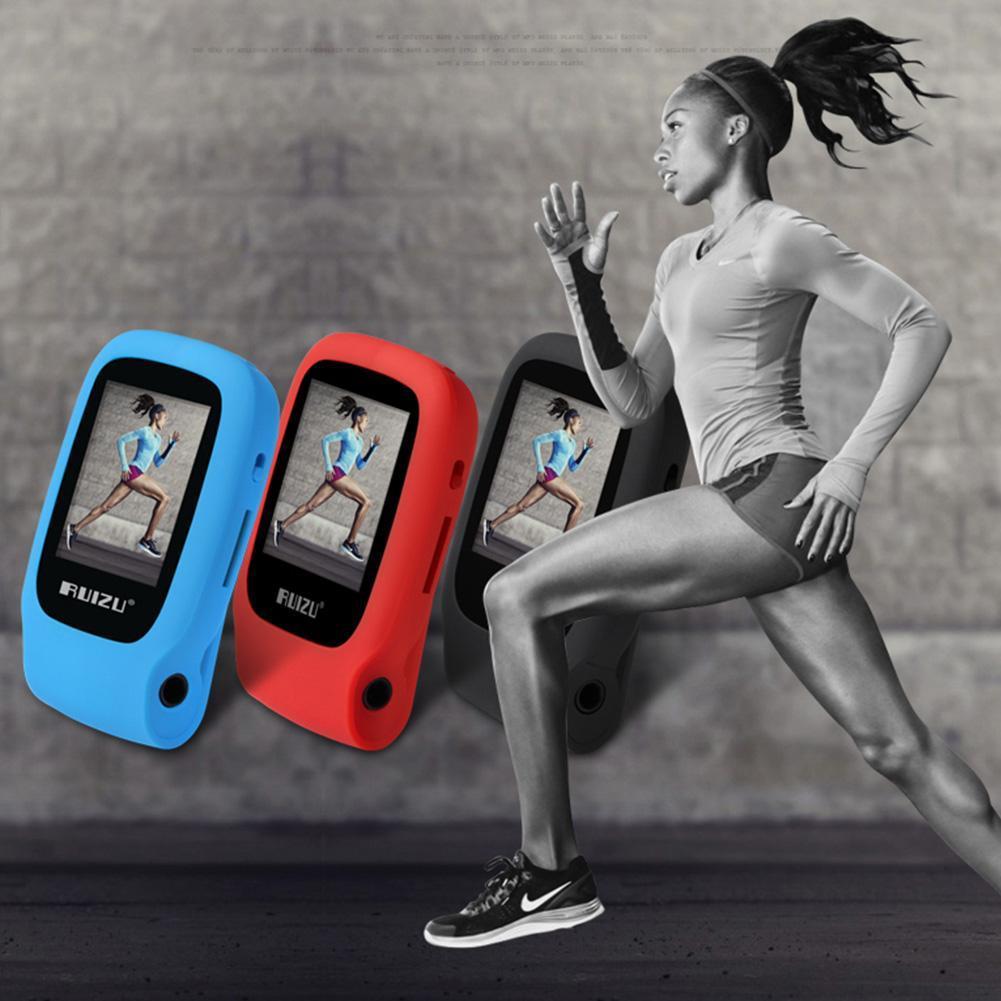 Ruizu X09 Running Hifi Digital Sport Audio Screen Mp3 Jogging Mini Clip Music