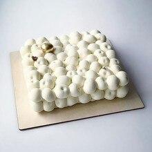 3D торт вишня поддон для выпечки муссов Шоколадные украшения для тортов мусс инструмент форма для выпечки