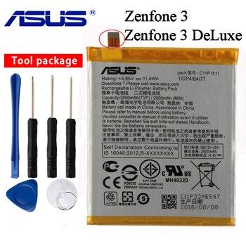 цена на Original ASUS C11P1511 Battery For ASUS ZENFONE 3 DELUXE ZE552KL Z012DA Z012DE C11P1511 Straight line