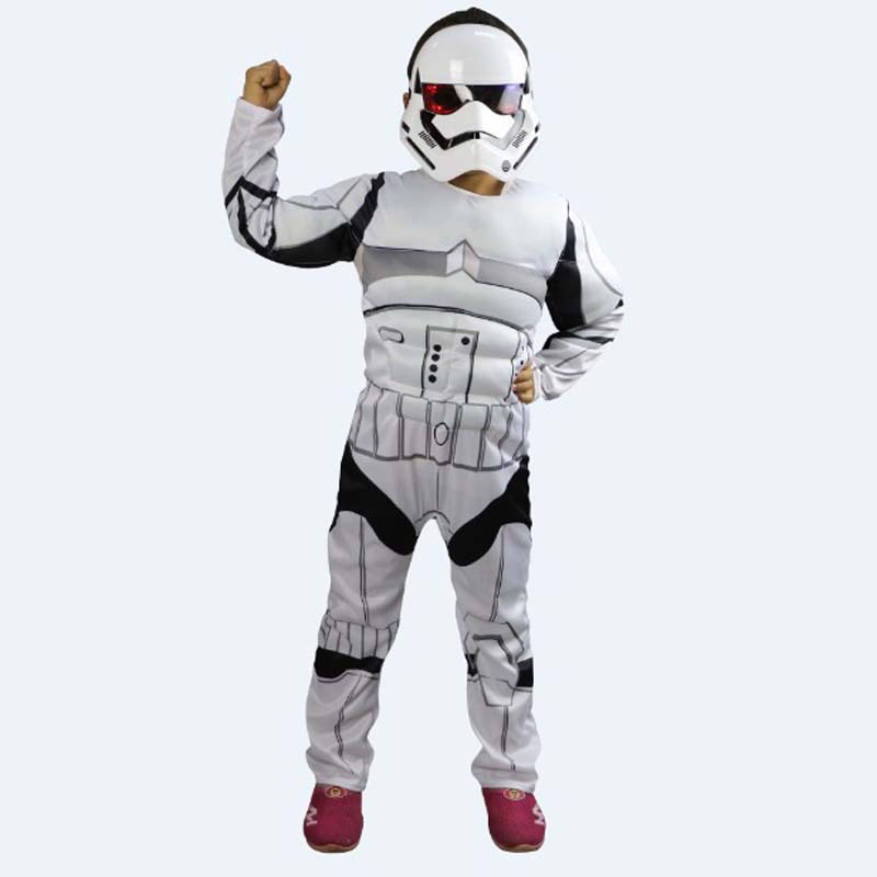 Fantasia Halloween Stormtroopers Costume for Children Disfraces Star Wars Cosplay Movie Role play Carnival Christmas Party & White Color Menu0027s Halloween Sailor Costumes Navy uniforms Cosplay ...