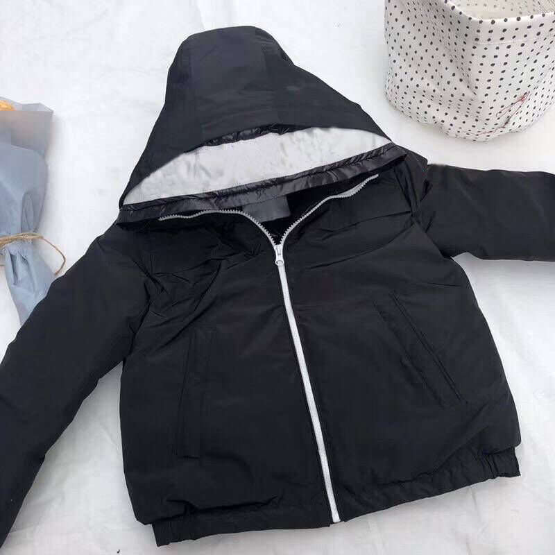 kid black down jackets duck down coat hooded for boys girls winter warm down hoodie clothes цена